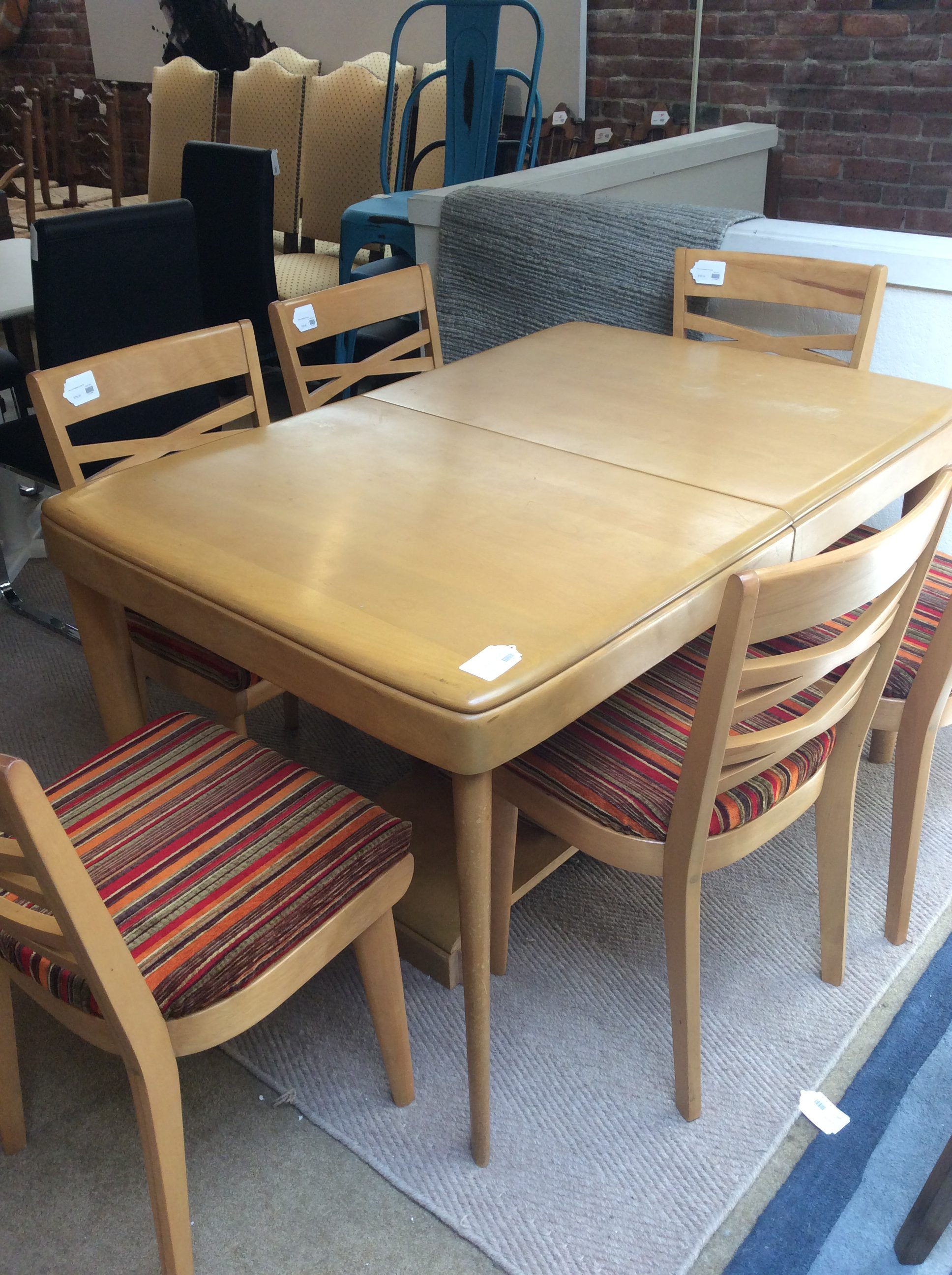 Heywood Wakefield Dining Set SOLD