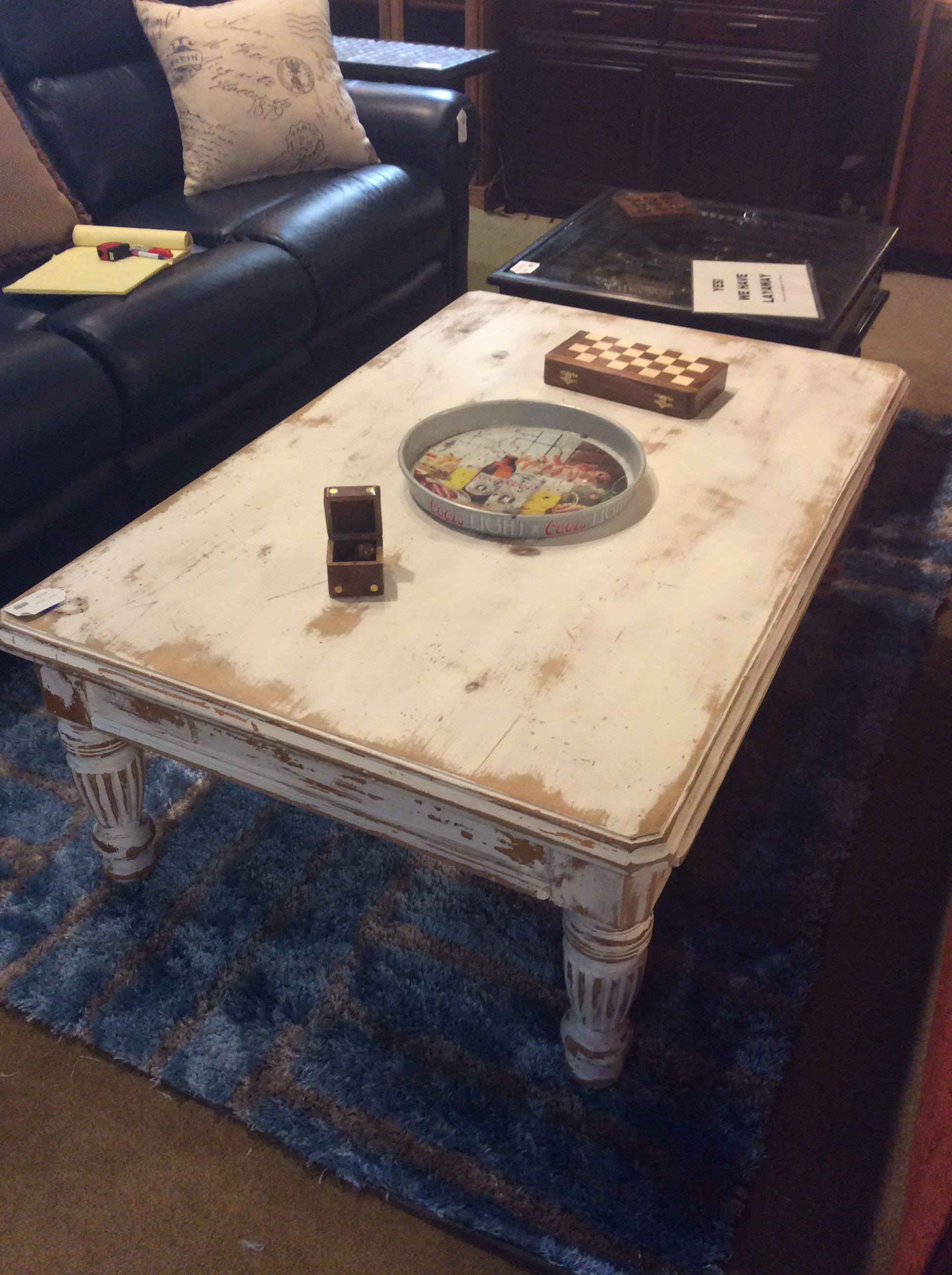 Shabby Chic Coffee Table Sold Ballard Consignment