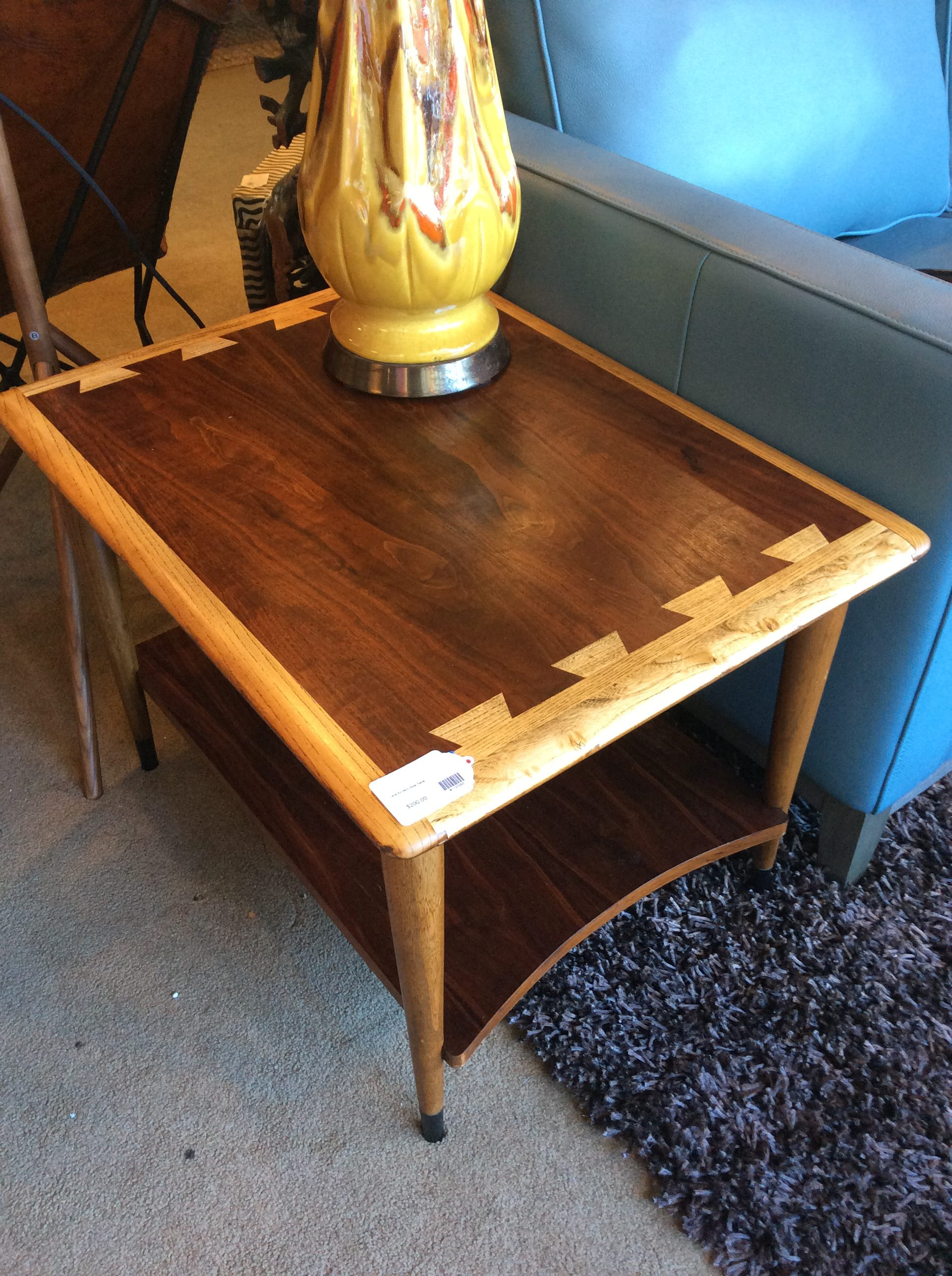 Mid Century Lane Side Table Sold