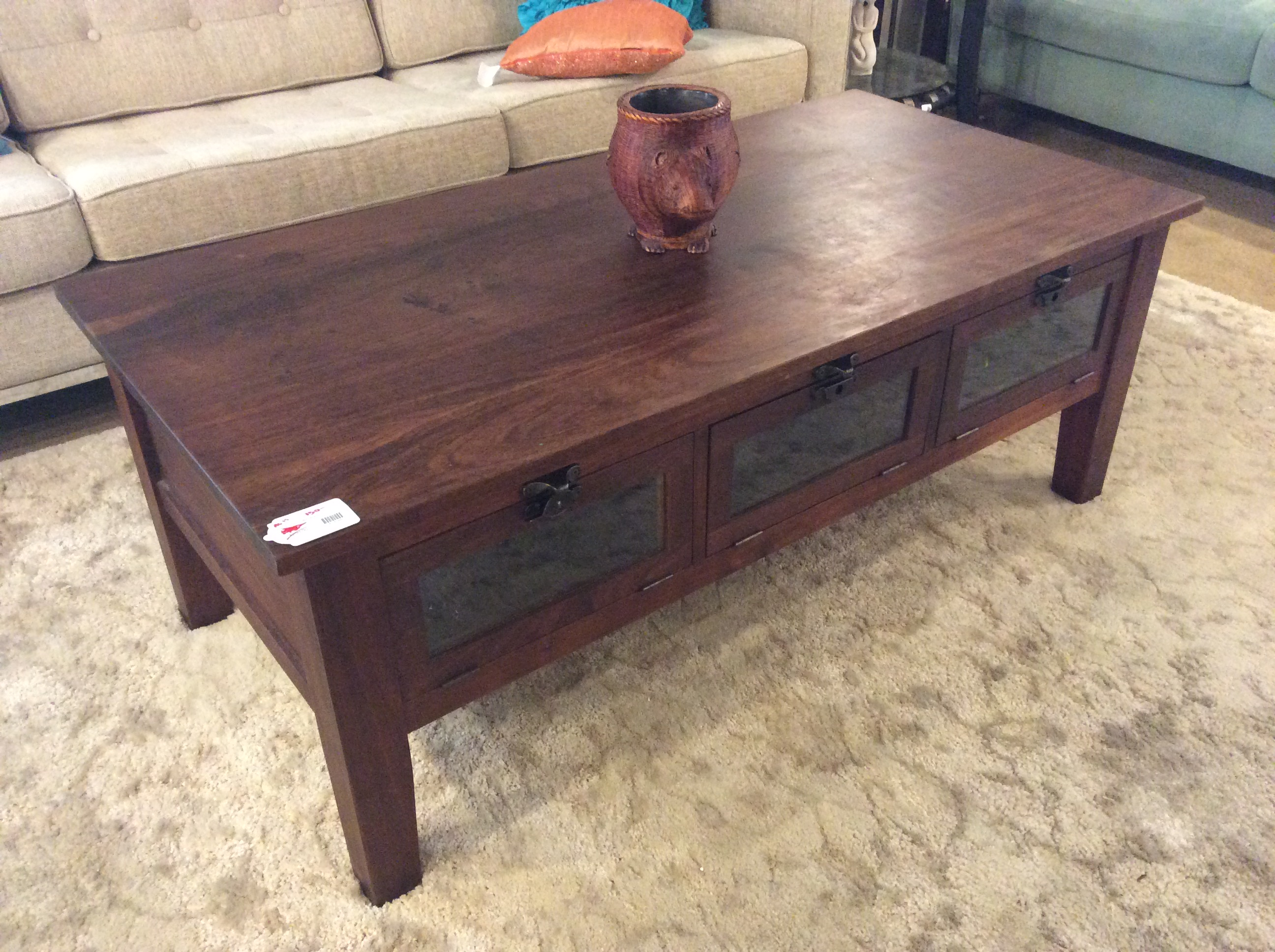 Rustic Wooden Coffee Table Sold