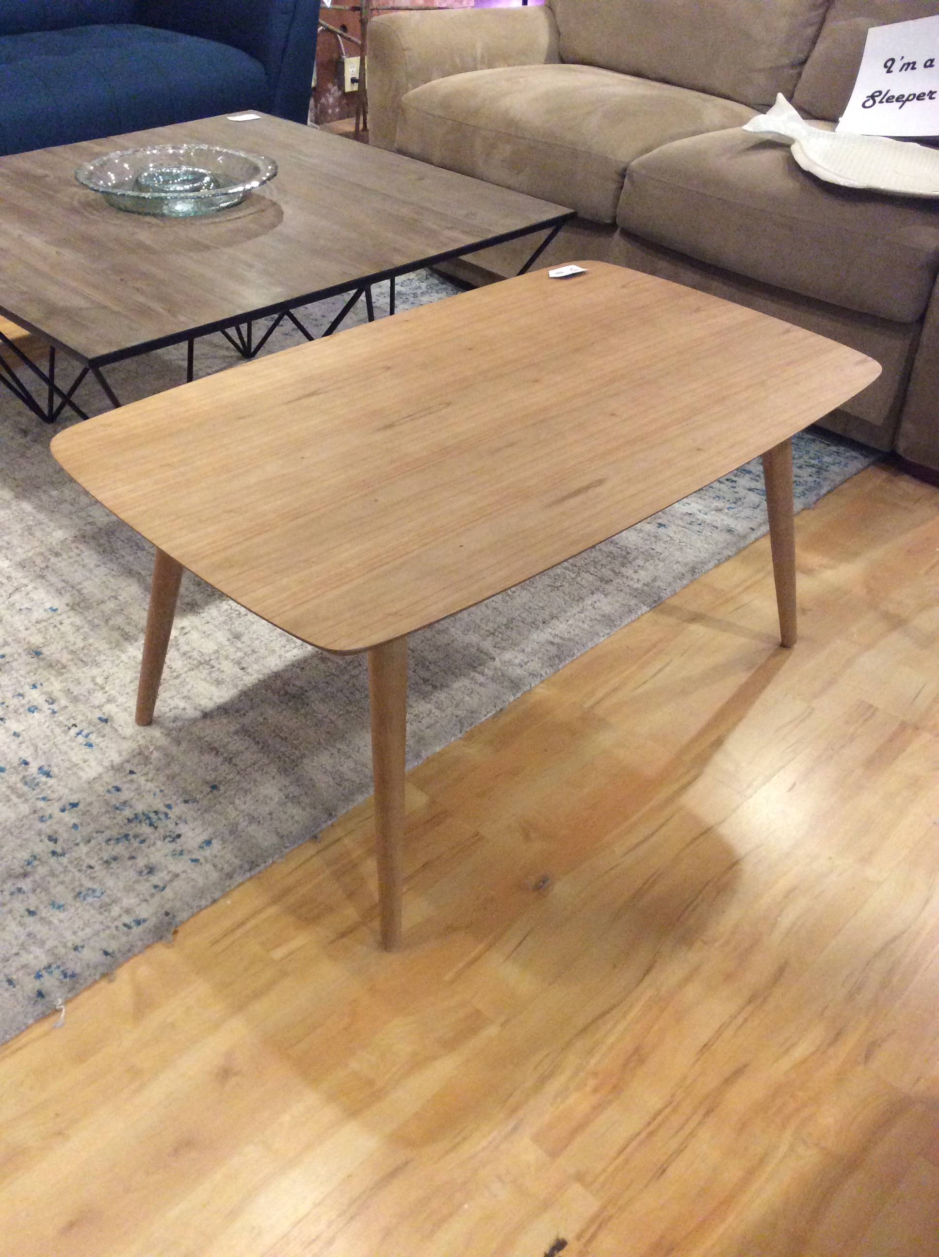Mcm Blonde Style Coffee Table Sold Ballard Consignment