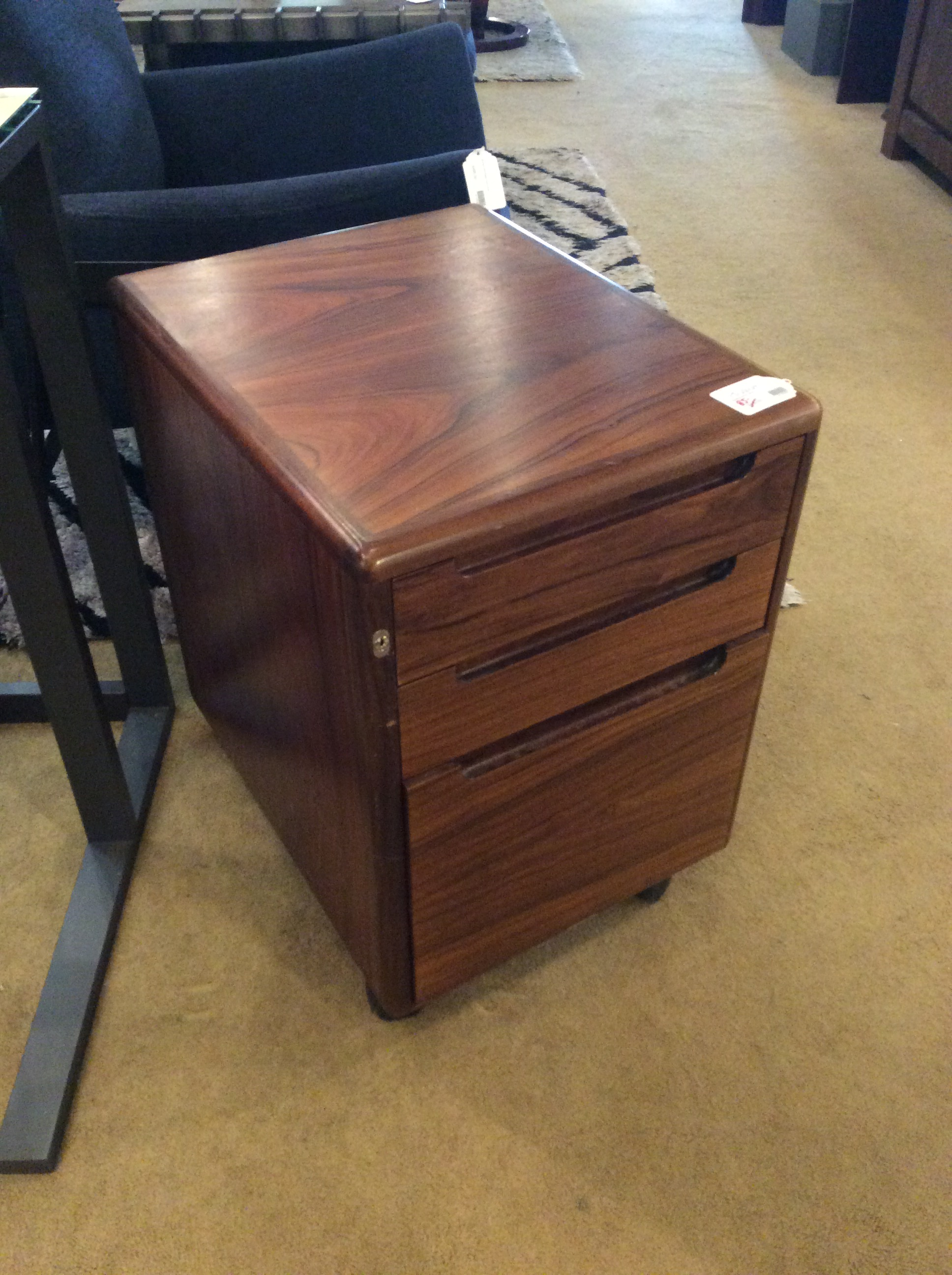 Rosewood File Cabinet Sold Ballard Consignment