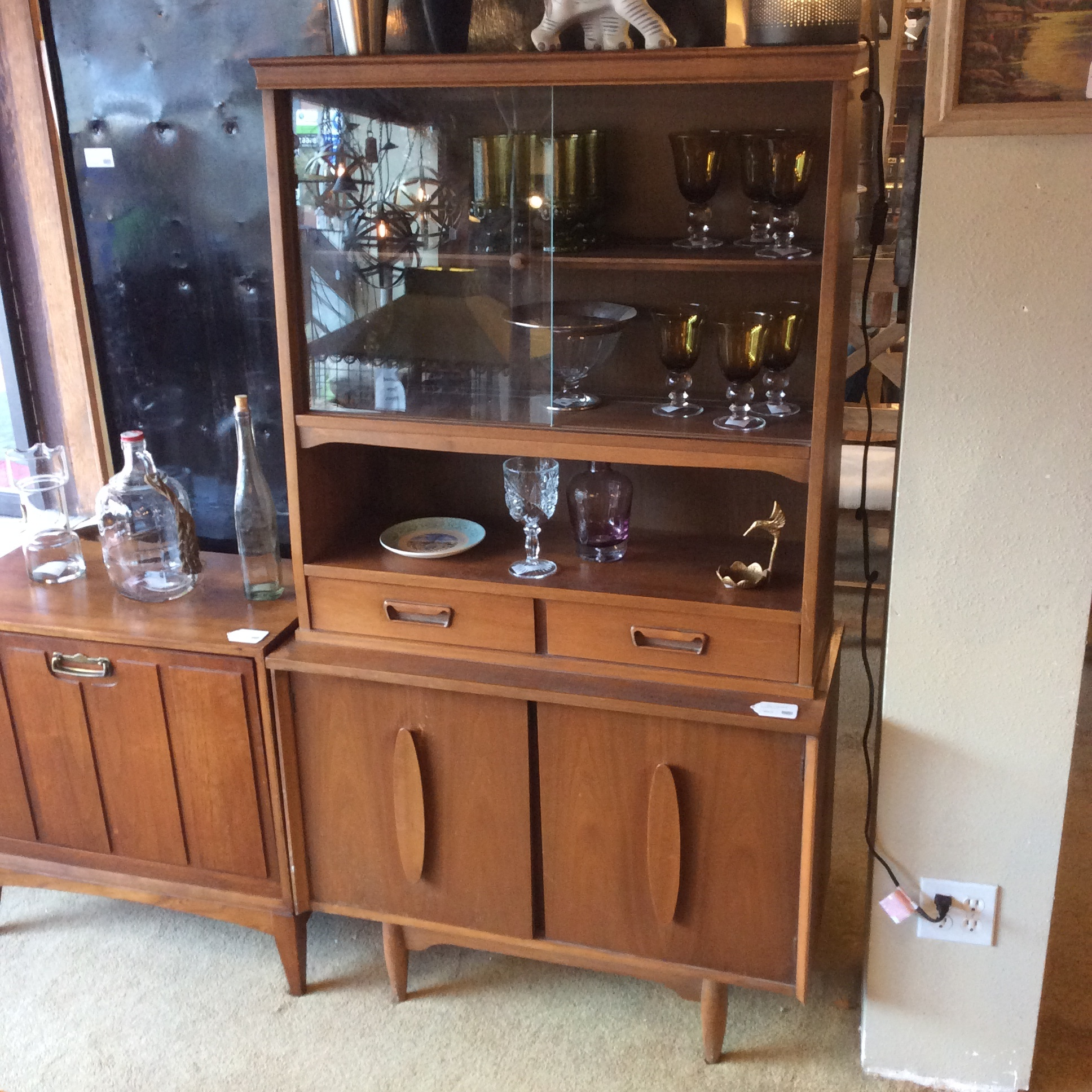 Mid Century Hutch As Is Sold Ballard Consignment