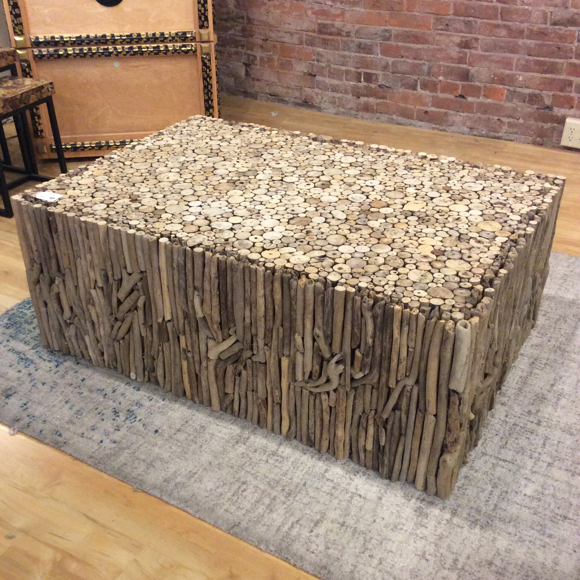 Picture of: Driftwood Coffee Table Sold Ballard Consignment